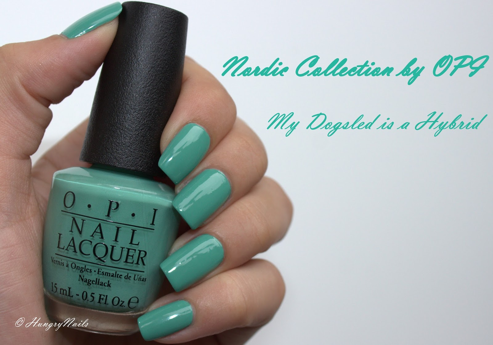 Swatches | OPI My Dogsled is a Hybrid - HungryNails Blog | Die bunte ...