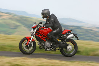 ducati motorcycle is very sweet
