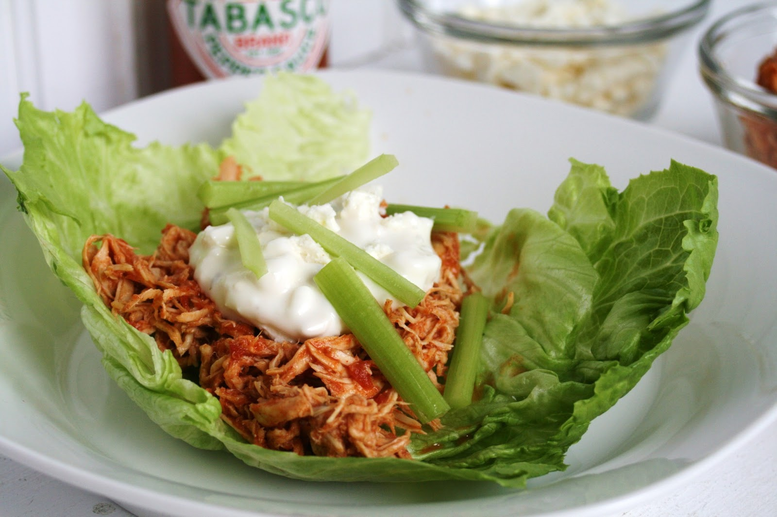 Thee Cook: Buffalo Chicken Lettuce Wraps