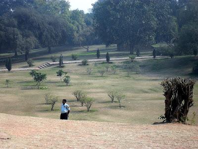 парк в Красном форте. Агра