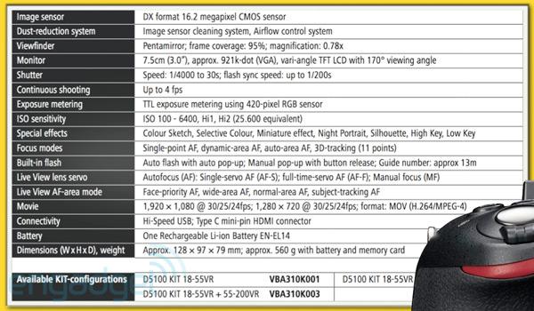 Nikon now announces its D5100 DSLR camera and ME-1 external mic