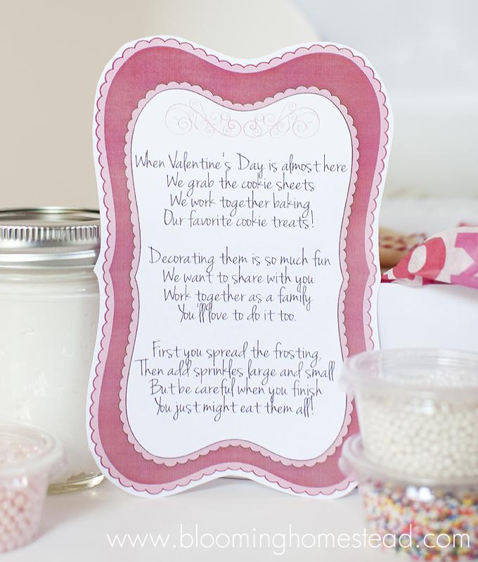 Valentine Poem For Cookie Kit {free Download}
