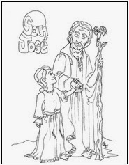 st joseph coloring pages and activities