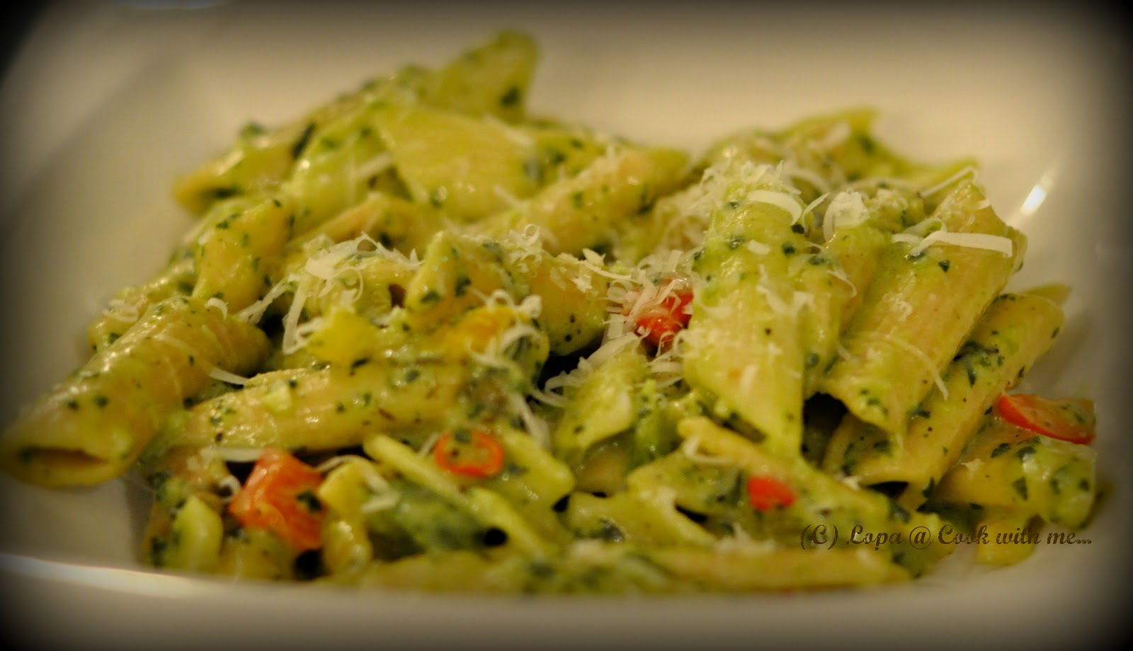 Cook with me veg pasta in creamy spinach sauce for Creamy spinach pasta bake