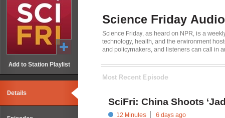 posts best science podcasts