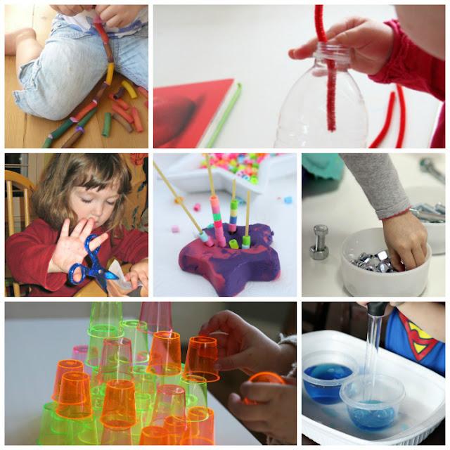 Fine motor activities for toddlers and preschoolers