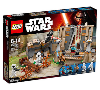 TOYS : JUGUETES - LEGO Star Wars VII  75139 Batalla en Takodana | Battle on Takodana  El Despertar de la Fuerza - The Force Awakens  2016 | Película Disney | Piezas: 409 | Edad: 8-14 años  Comprar en Amazon España & buy Amazon USA
