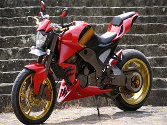 Modification Honda Tiger Streetfighter