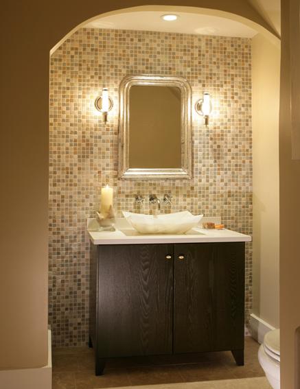 C B I D Home Decor And Design The Powder Room Small