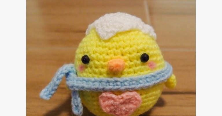 Free Crochet Pattern Amigurumi Bear : Easter Chick Pattern up for Sale!! ~ Snacksies Handicraft ...