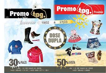 Começa nesta segunda (19), a promoção da Loja Tag na antiga Casa do Estudante em Turvo