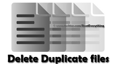 Delete duplicate files easily