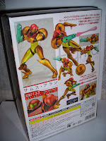 Figma Samus' packaging back view
