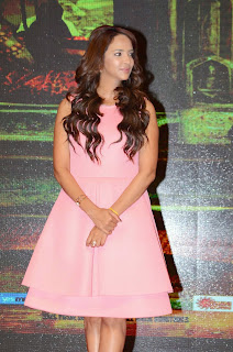 Actress Manchu Lakshmi Latest Pictures in Short Dress at Yevade Sumanyam Audio Launch  11