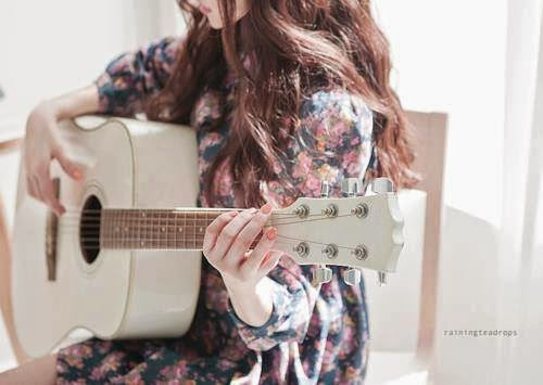 Girl with Guitar FB DP