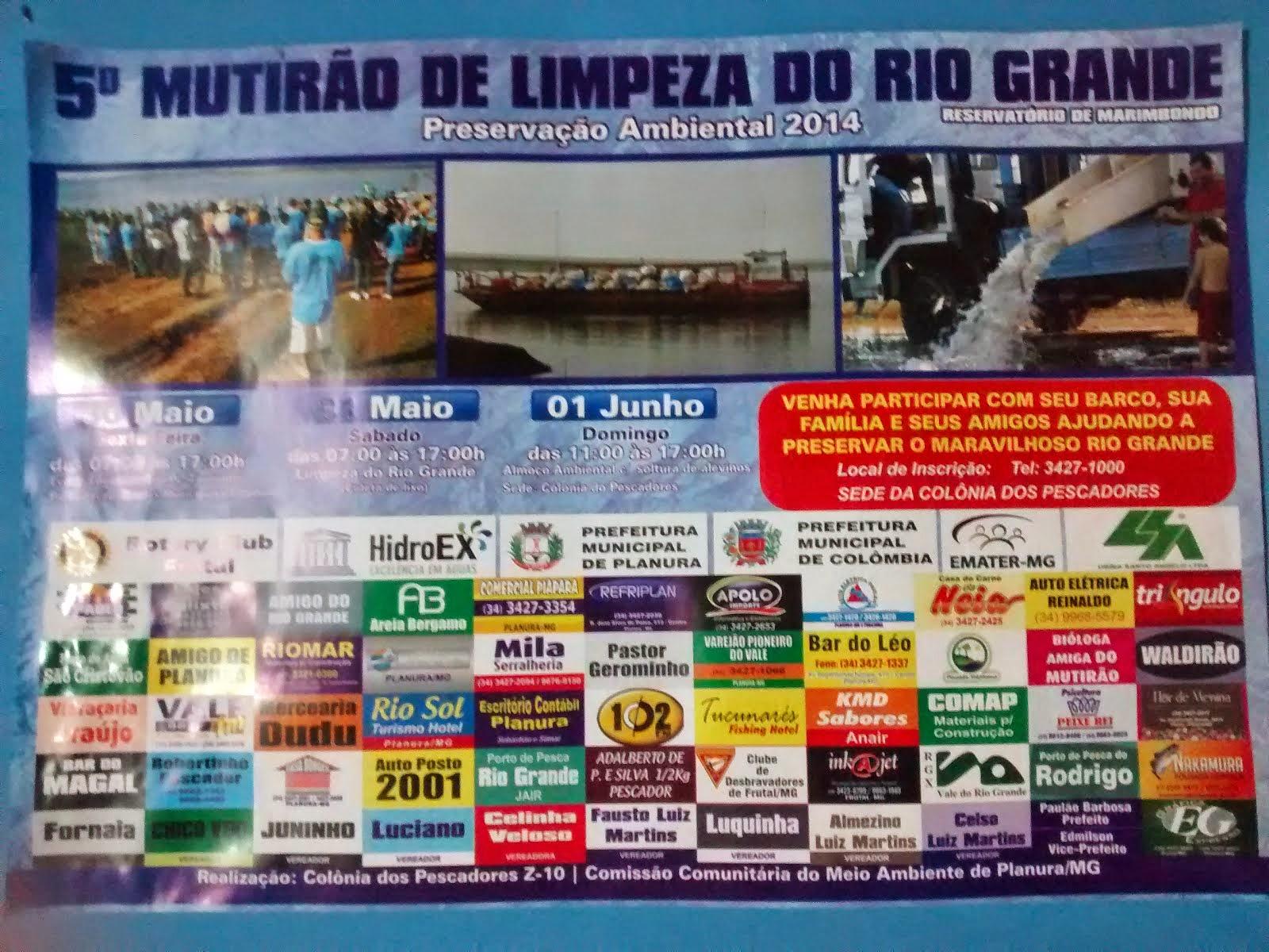 Limpeza do Rio Grande 2014
