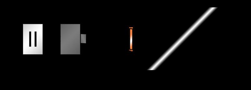 コンセント(に差し込んだACアダプタ)と端末の間にUSB端子(USB端子の先のケーブルと端末は、端末の差込口に合う形状の変換アダプタを介してつながる)を介して結んでいる
