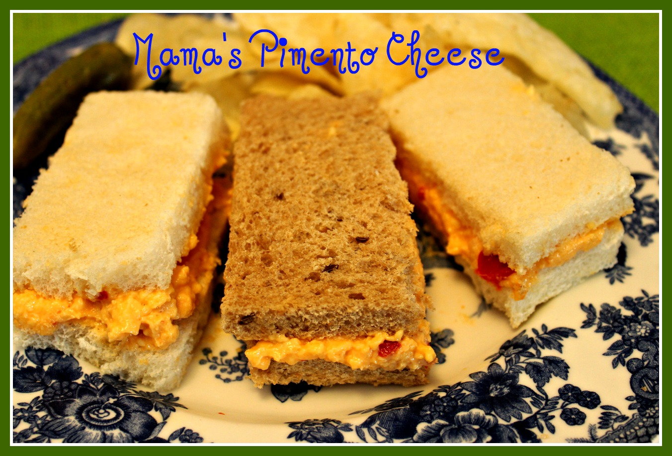 Sweet Tea and Cornbread: Mama's Pimento Cheese!