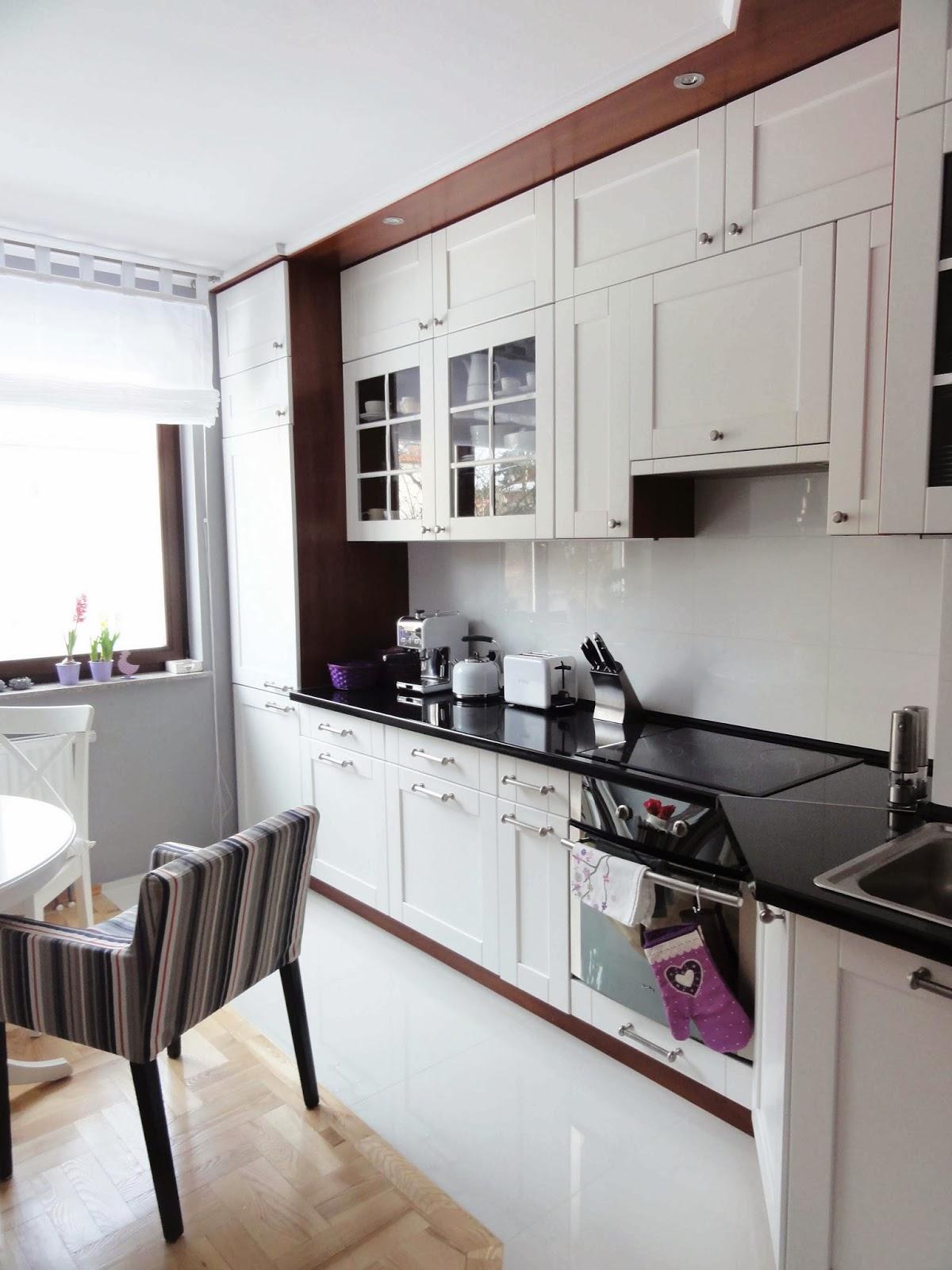 dekorator amator Biała kuchnia