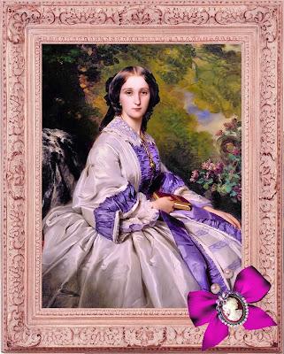dama victoriana scrapbooking