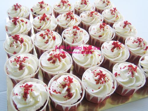 Red Velvet Cupcake Ai-sha Puchong Jaya