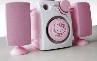 Hello Kitty speakers