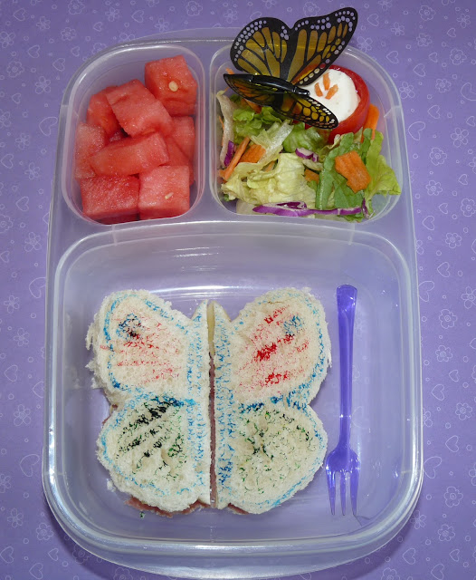 butterfly bento easylunchboxes