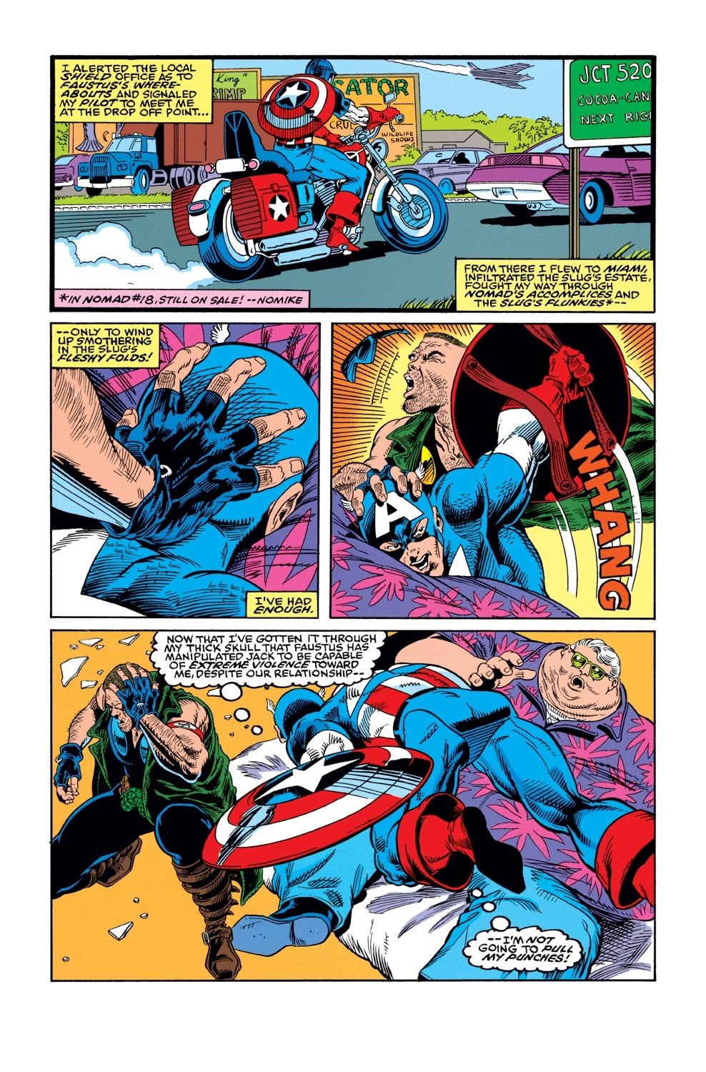 Captain America (1968) Issue #421 #371 - English 14