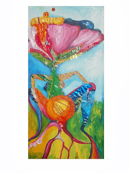 Mujer flor enraizando