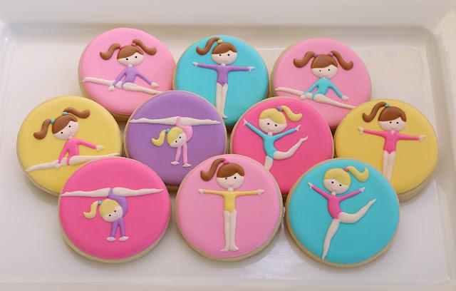 gymnast cookies
