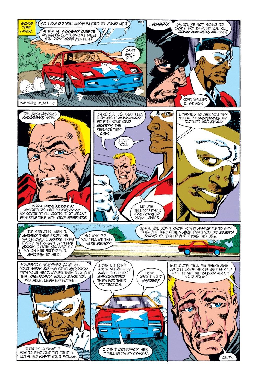 Captain America (1968) Issue #378 #311 - English 21