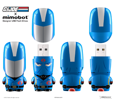 G.I. Joe Mimobot Designer USB Flash Drives Series 1 by Mimoco - Cobra Commander