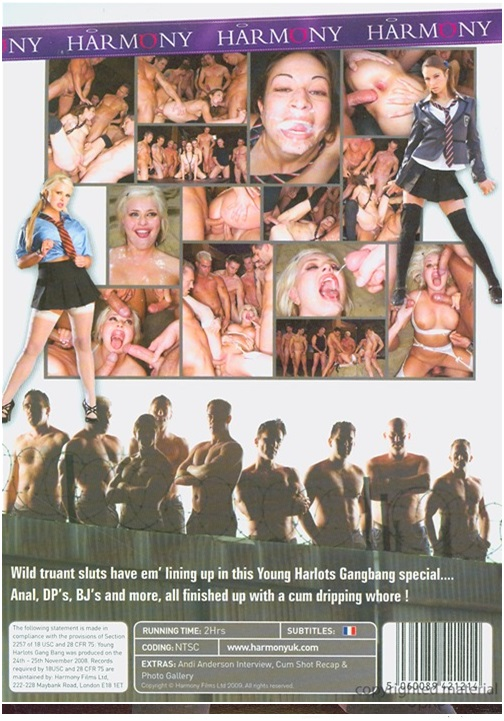 XXX movie: Young Harlots Gang Bang