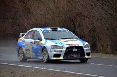 Sebastian Barbu si Răzvan Hulea - Mitsubishi Lancer EVO X - Tess Rally