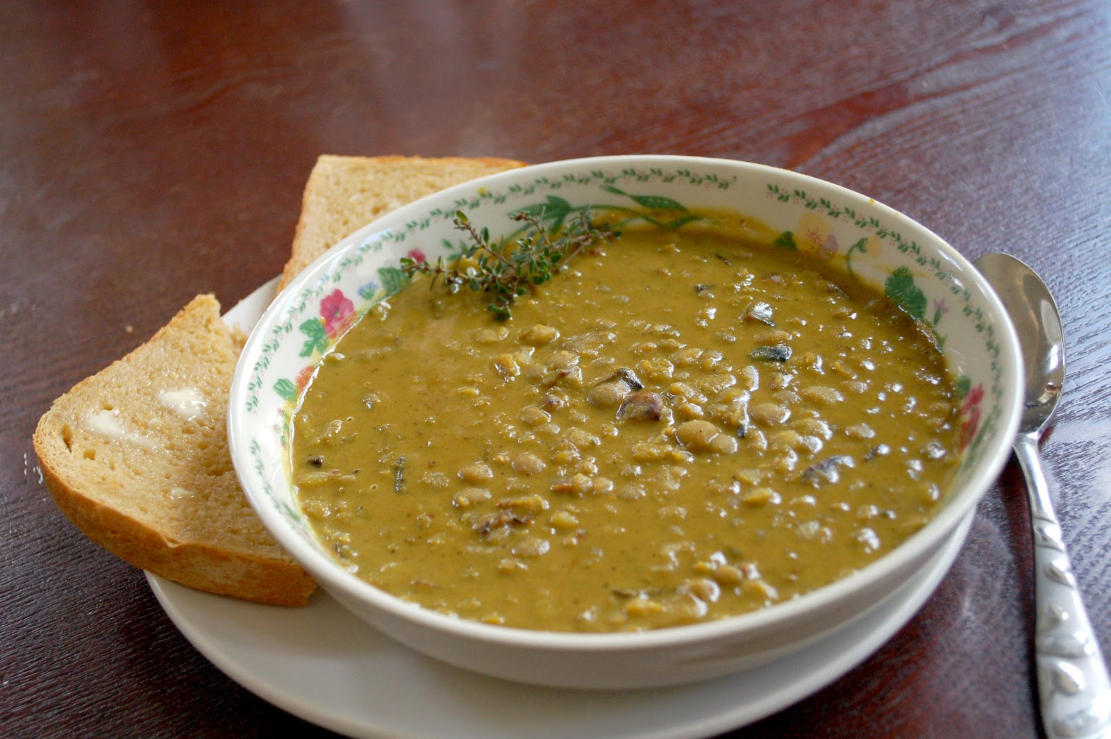 how to cook green lentils in soup