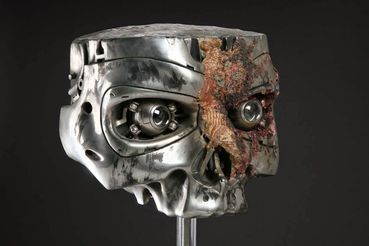 Oversized skull ...T 800 Terminator Skull