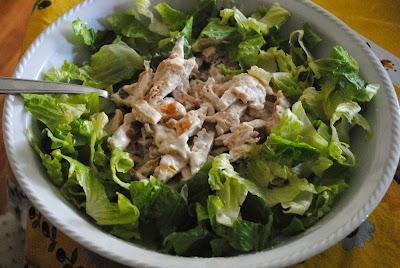 insalata di pollo veloce