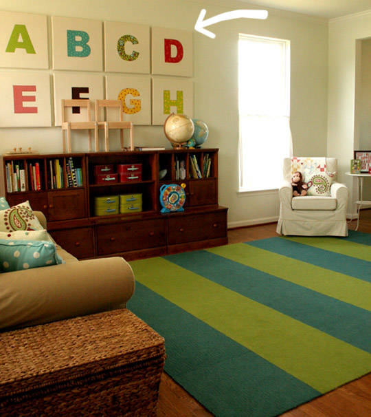 Playroom: Virginia Beach Housewife: Playroom Inspiration