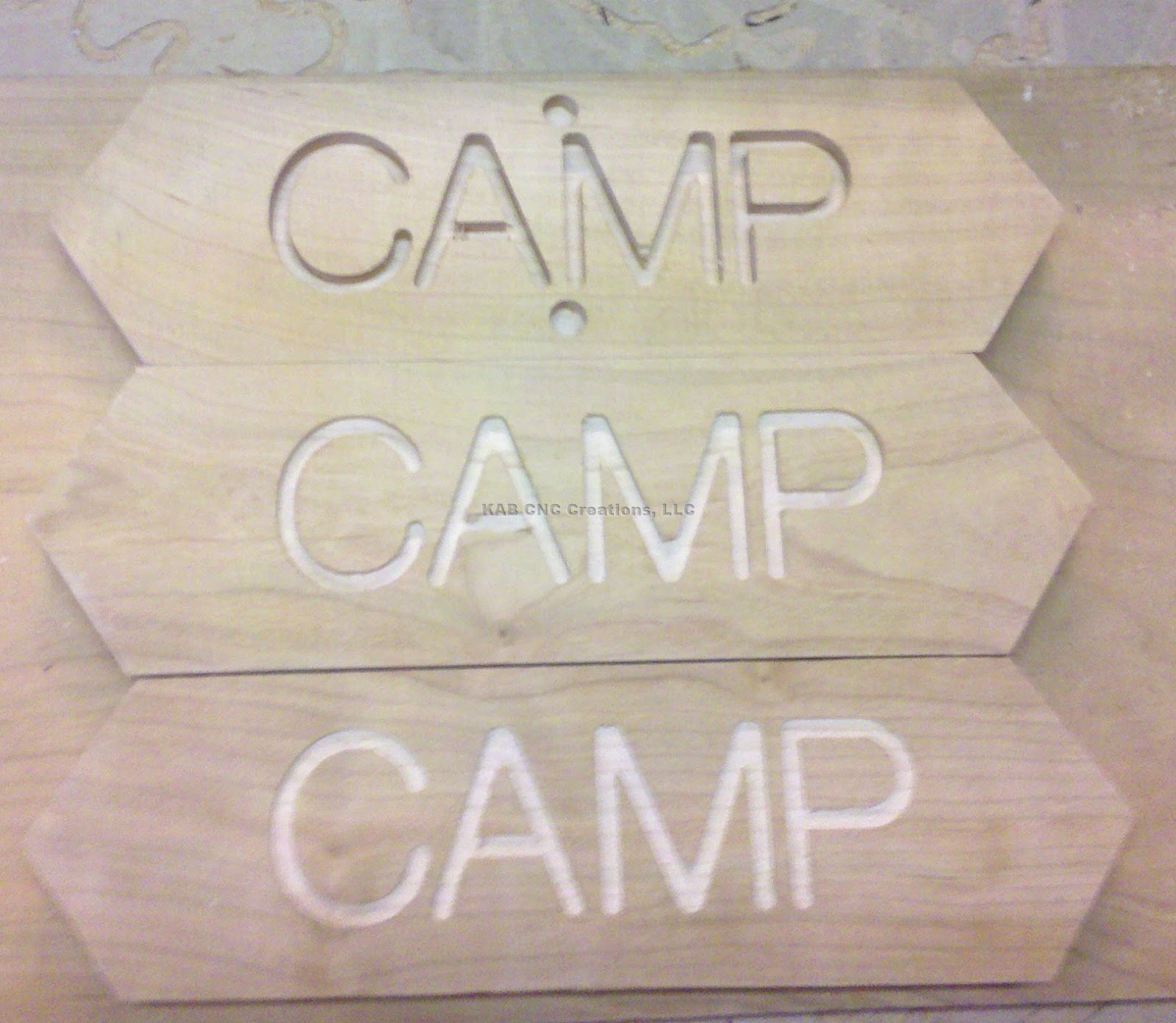 Camp Signs Custom camp sign: different
