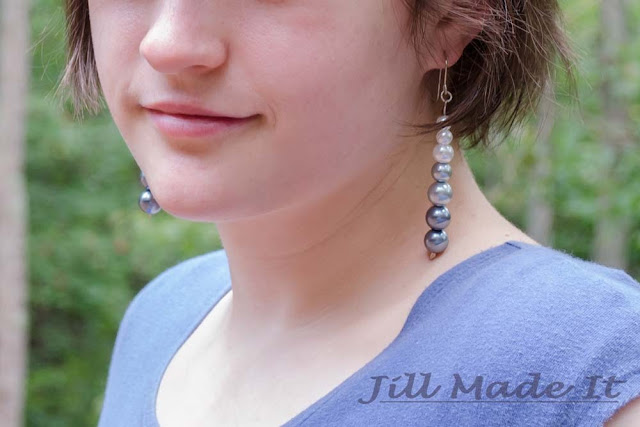 Fast, Easy, and Elegant Ombre Earrings Tutorial