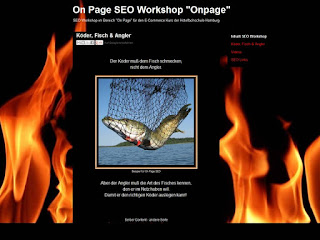 Suchmaschinenoptimierung, SEO, Onpage, On Page