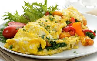 menu sahur omelet sayur