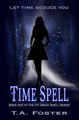 Cover Reveal: Time Spell by T.A. Foster