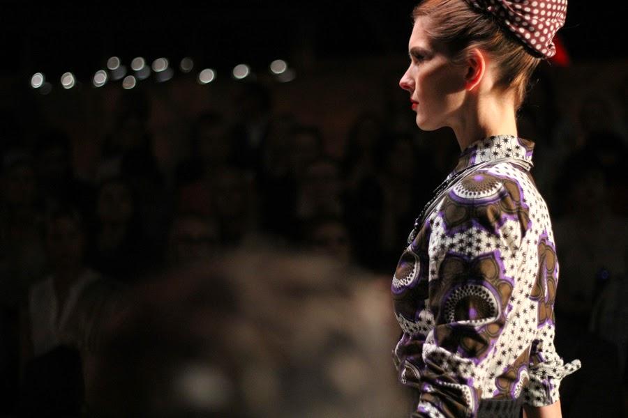 mercedes benz fashion week berlin lena hoschek models erika heß eisstadion