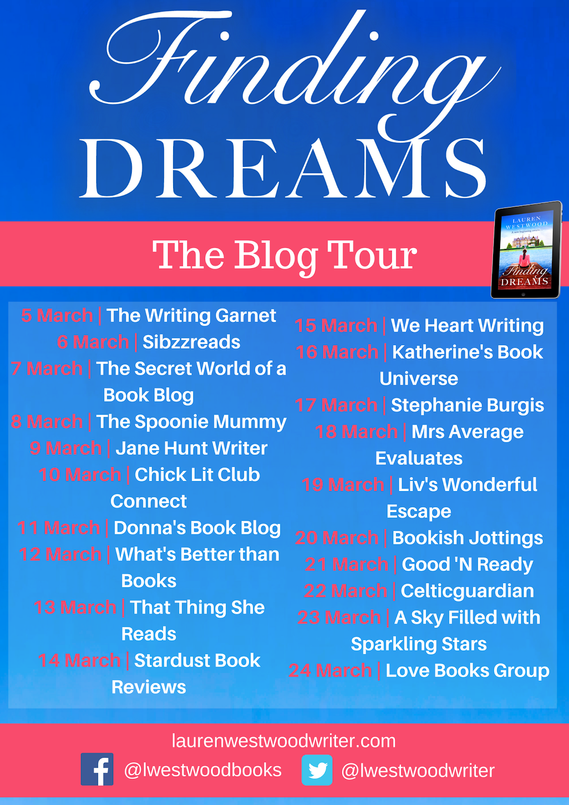 Blog Tour: Finding Dreams