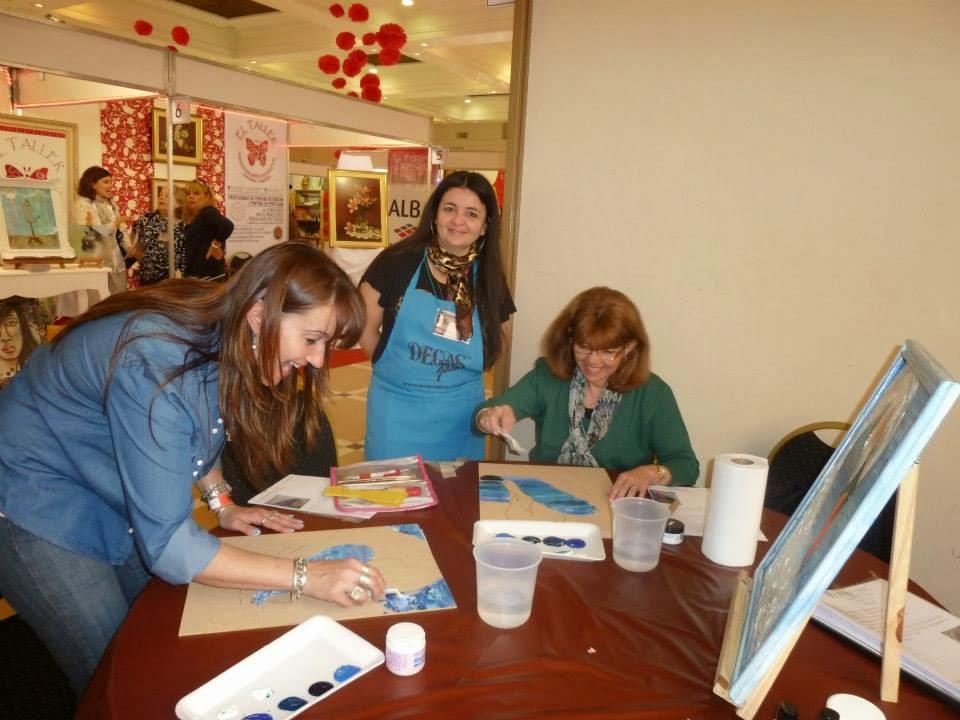 EN SANTA FE, Capital dicto clases del Profesorado de Pintura Decorativa :