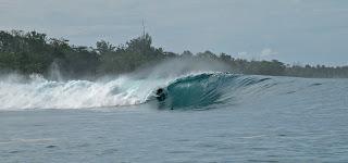 surf camping trip indonesia mentawai ian battrick lunasurf surfboard tail pads