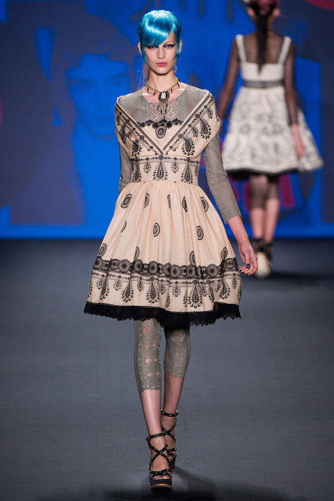 Anna Sui RTW Spring 2013 New York Fashion Week