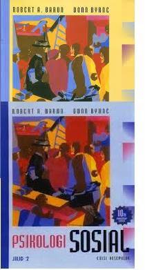 Buku Psikologi Sosial Jilid 1, 2, Edisi 10 Robert A. Baron, Donn Byrne