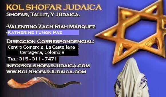 KOL SHOFAR JUDAICA Tel: 310-523-7760